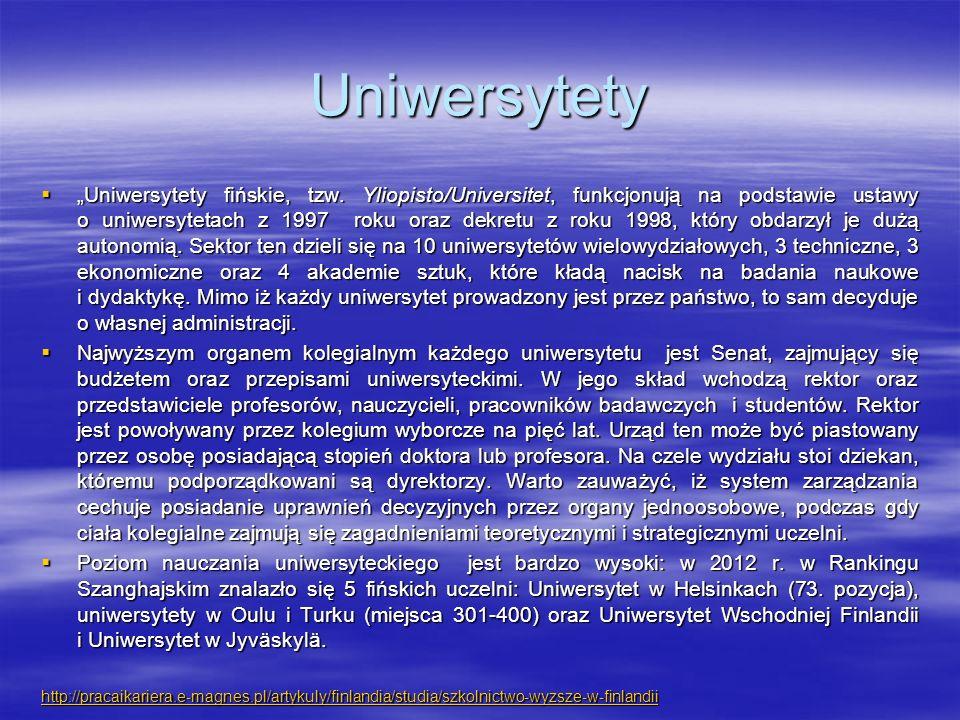 Uniwersytety