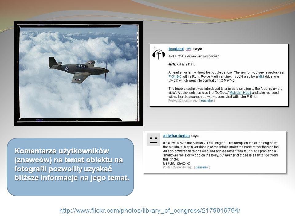 Komentarze użytkowników (znawców) na temat obiektu na fotografii pozwoliły uzyskać bliższe informacje na jego temat.