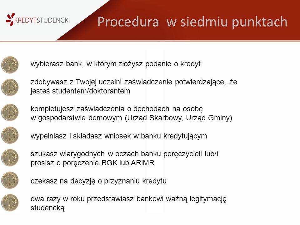 Procedura w siedmiu punktach