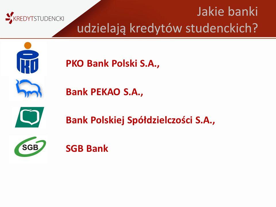 Jakie banki udzielają kredytów studenckich
