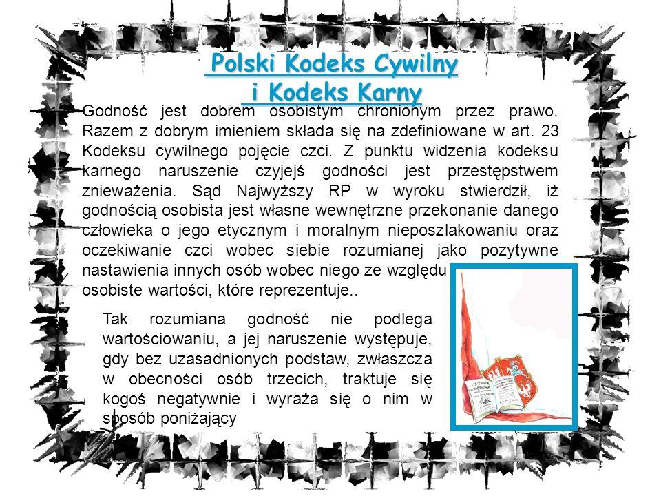 Polski Kodeks Cywilny i Kodeks Karny
