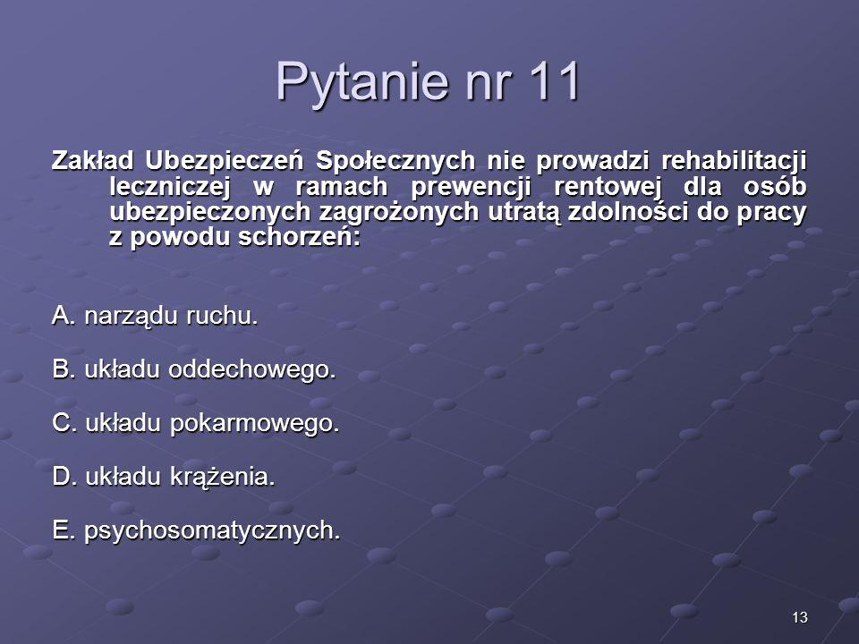 Kariera lekarzaLek. Marcin Żytkiewicz. Pytanie nr 11.