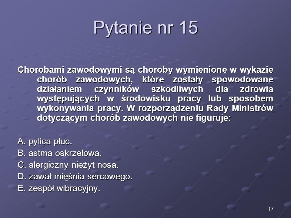Kariera lekarzaLek. Marcin Żytkiewicz. Pytanie nr 15.