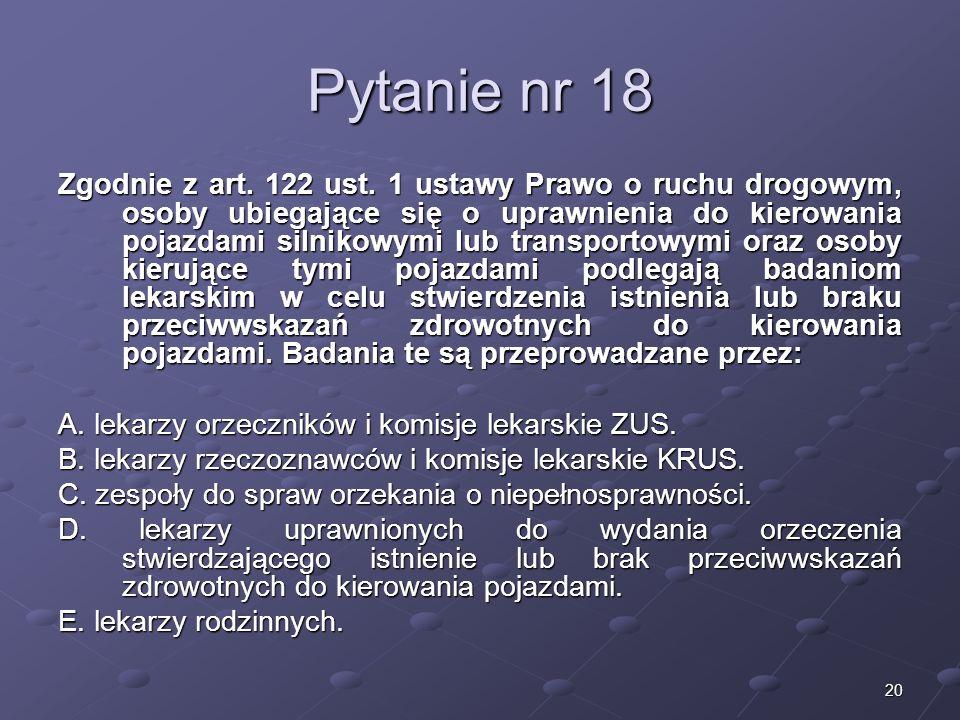 Kariera lekarzaLek. Marcin Żytkiewicz. Pytanie nr 18.