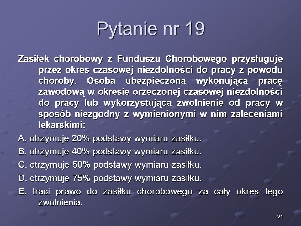 Kariera lekarza Lek. Marcin Żytkiewicz. Pytanie nr 19.
