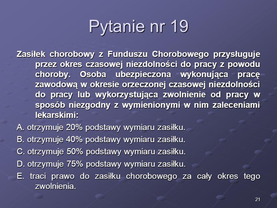 Kariera lekarzaLek. Marcin Żytkiewicz. Pytanie nr 19.