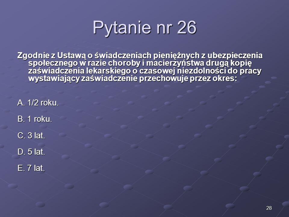 Kariera lekarzaLek. Marcin Żytkiewicz. Pytanie nr 26.
