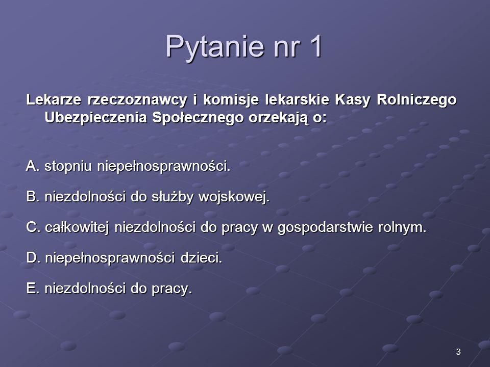 Kariera lekarza Lek. Marcin Żytkiewicz. Pytanie nr 1.