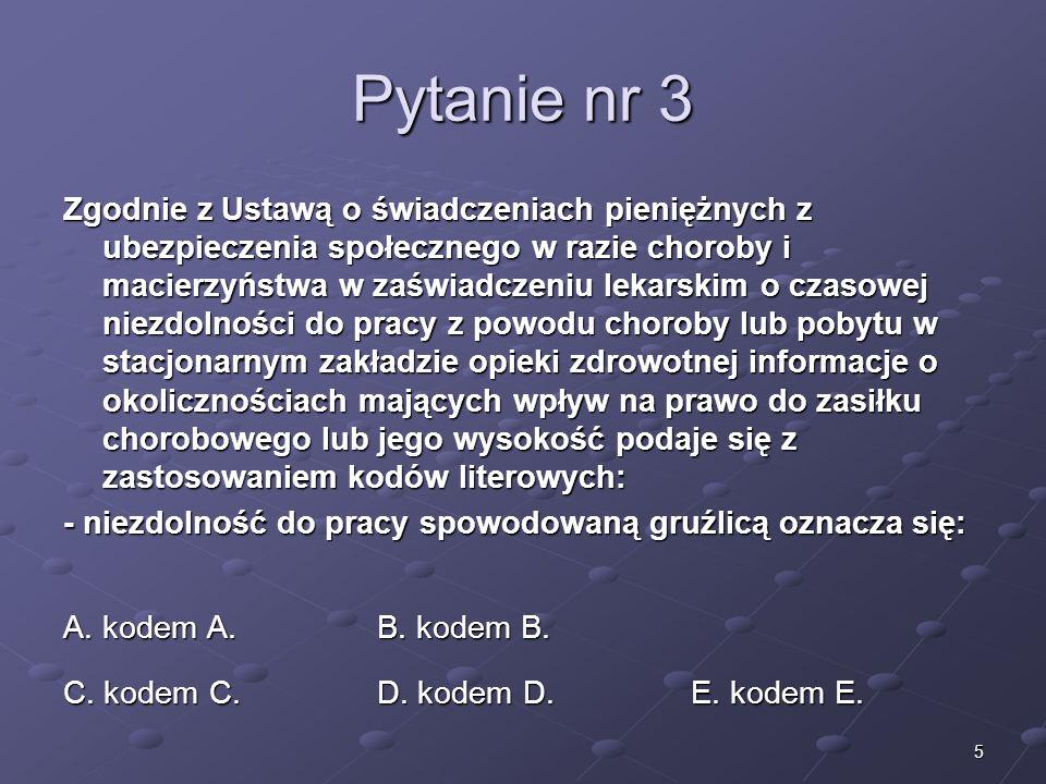 Kariera lekarza Lek. Marcin Żytkiewicz. Pytanie nr 3.
