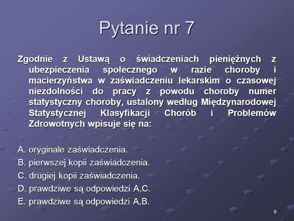 Kariera lekarza Lek. Marcin Żytkiewicz. Pytanie nr 7.