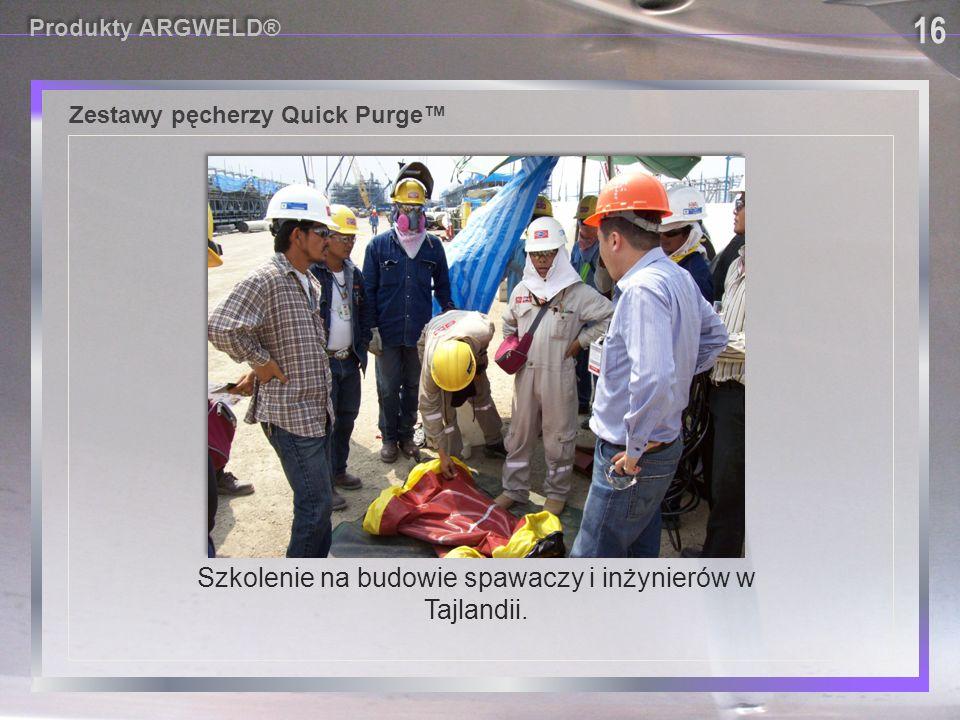 Szkolenie na budowie spawaczy i inżynierów w Tajlandii.