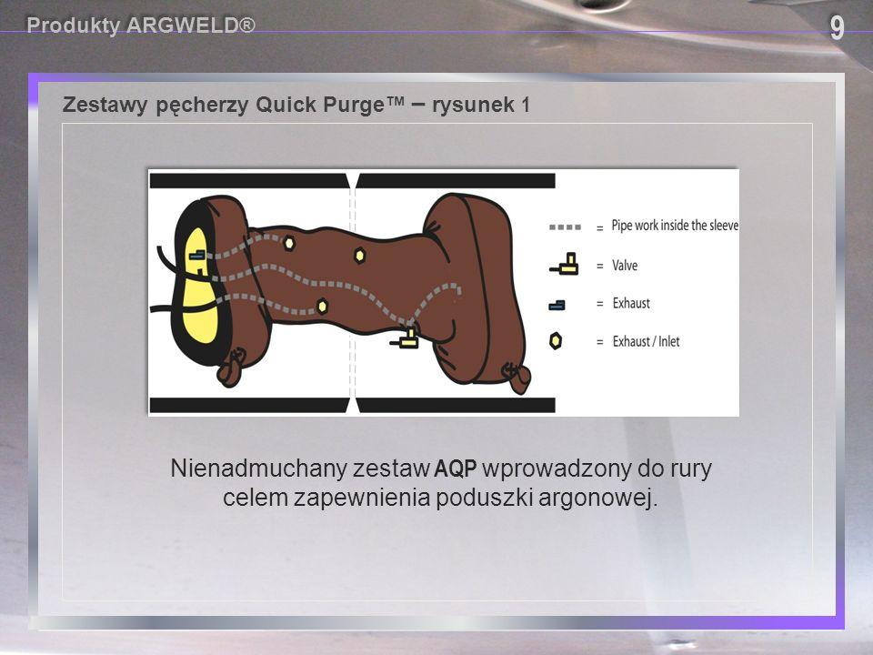 Zestawy pęcherzy Quick Purge™ – rysunek 1