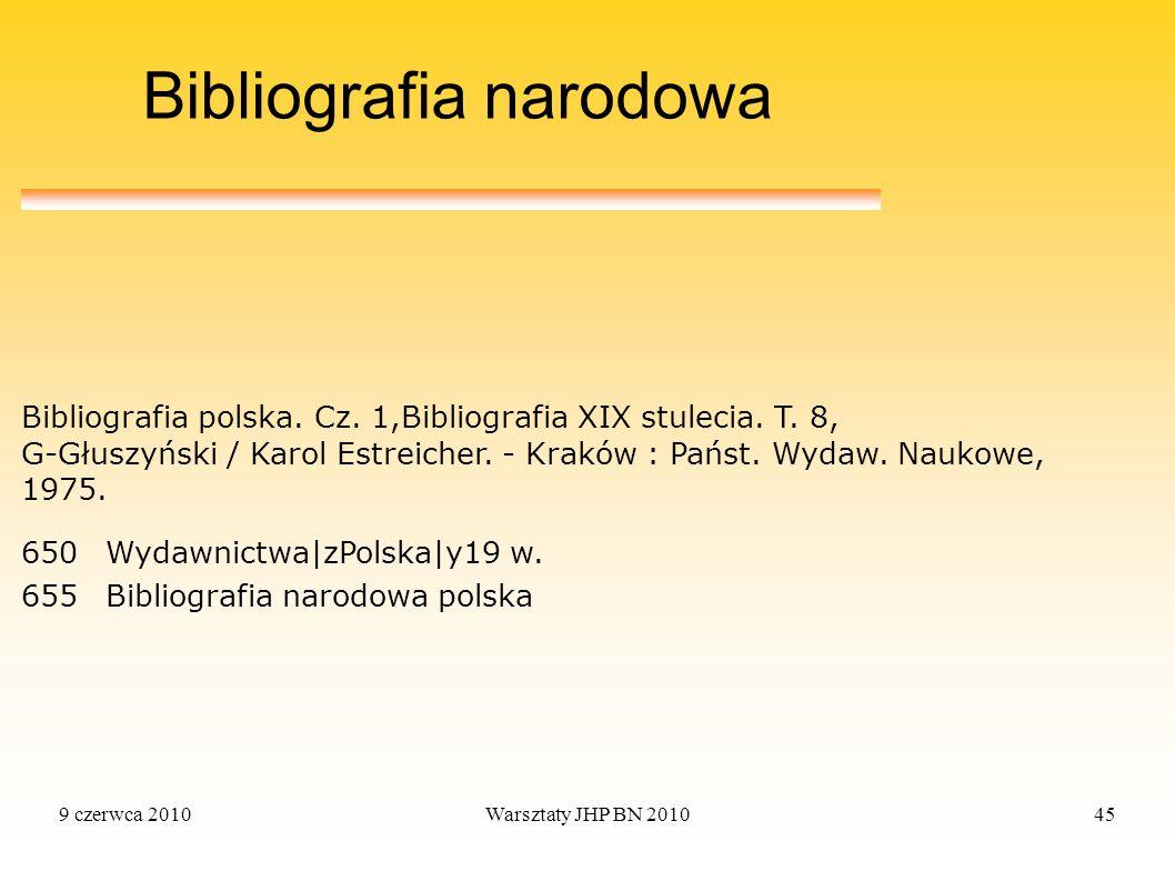 Bibliografia narodowa