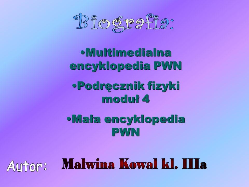 Multimedialna encyklopedia PWN Podręcznik fizyki moduł 4