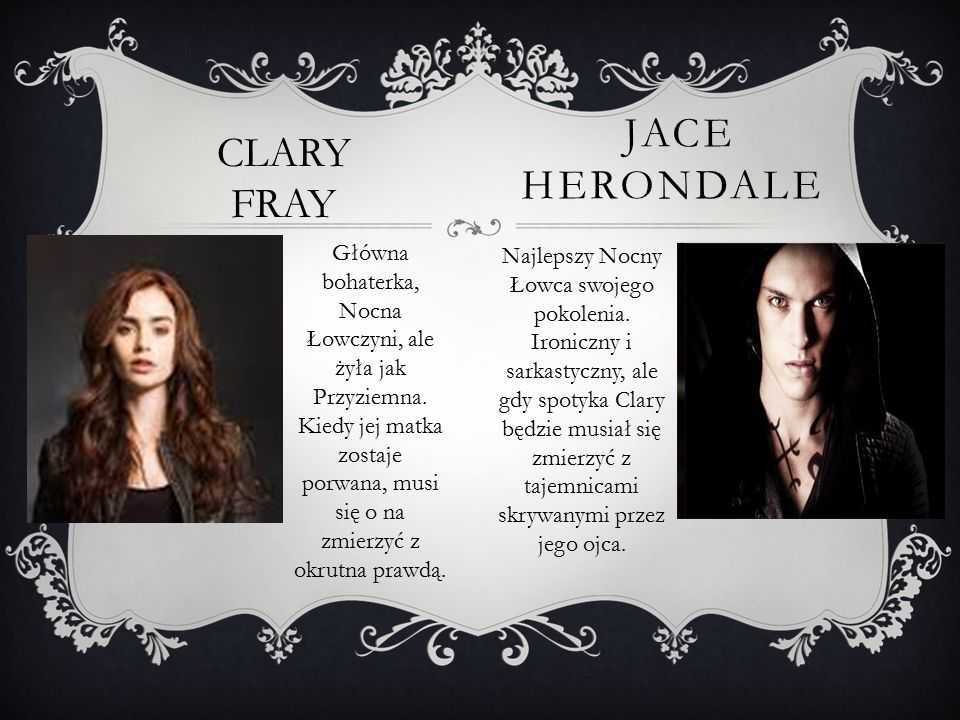 jace herondale CLARY FRAY