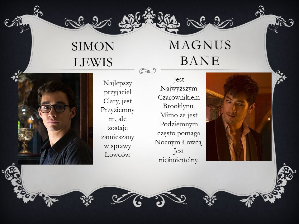 SIMON LEWIS Magnus bane
