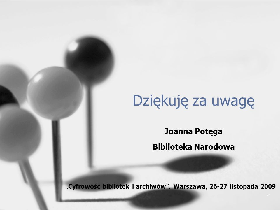 Joanna Potęga Biblioteka Narodowa
