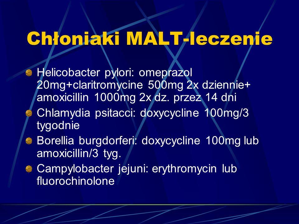 Chłoniaki MALT-leczenie