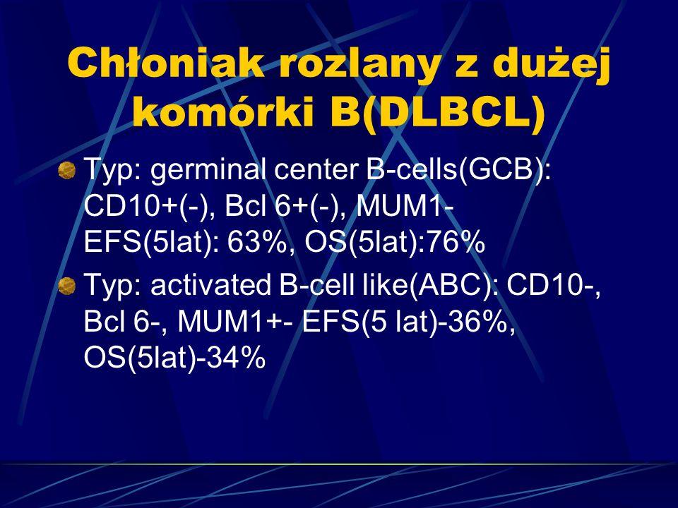 Chłoniak rozlany z dużej komórki B(DLBCL)