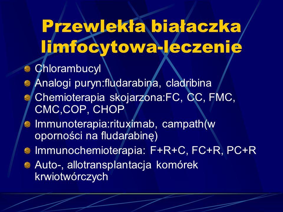 Przewlekła białaczka limfocytowa-leczenie