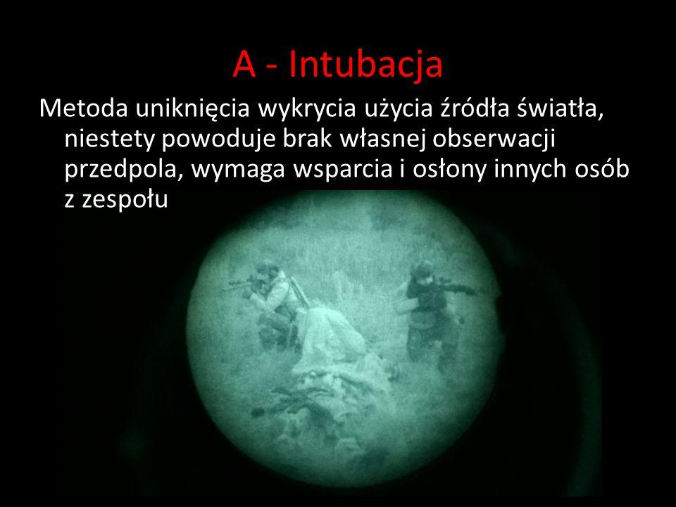 A - Intubacja