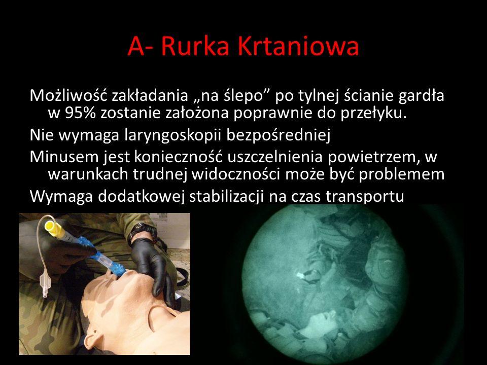 A- Rurka Krtaniowa