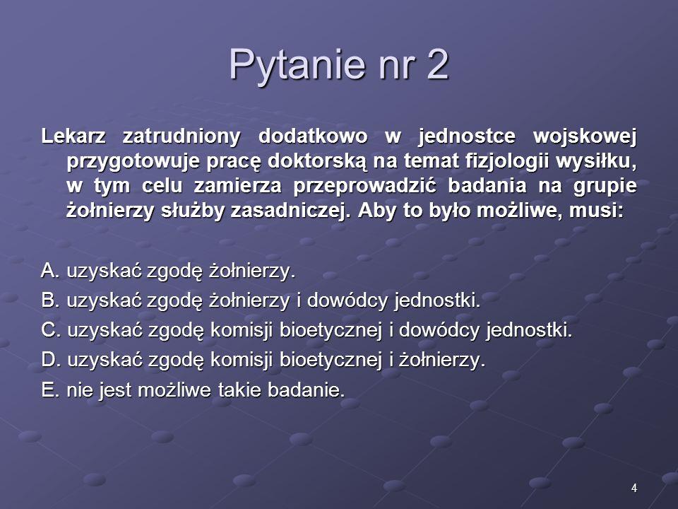 Kariera lekarzaLek. Marcin Żytkiewicz. Pytanie nr 2.