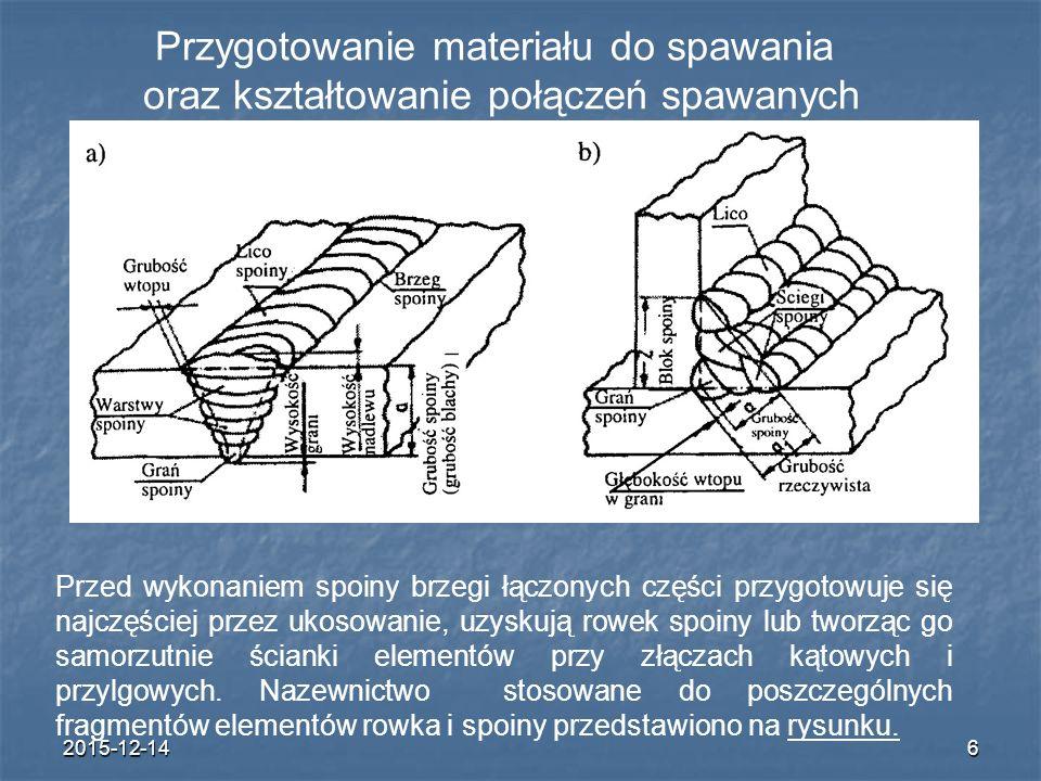 Przygotowanie materiału do spawania