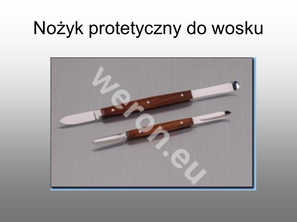 Nożyk protetyczny do wosku