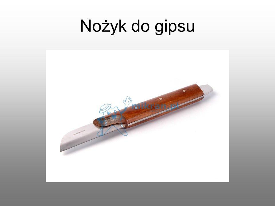 Nożyk do gipsu