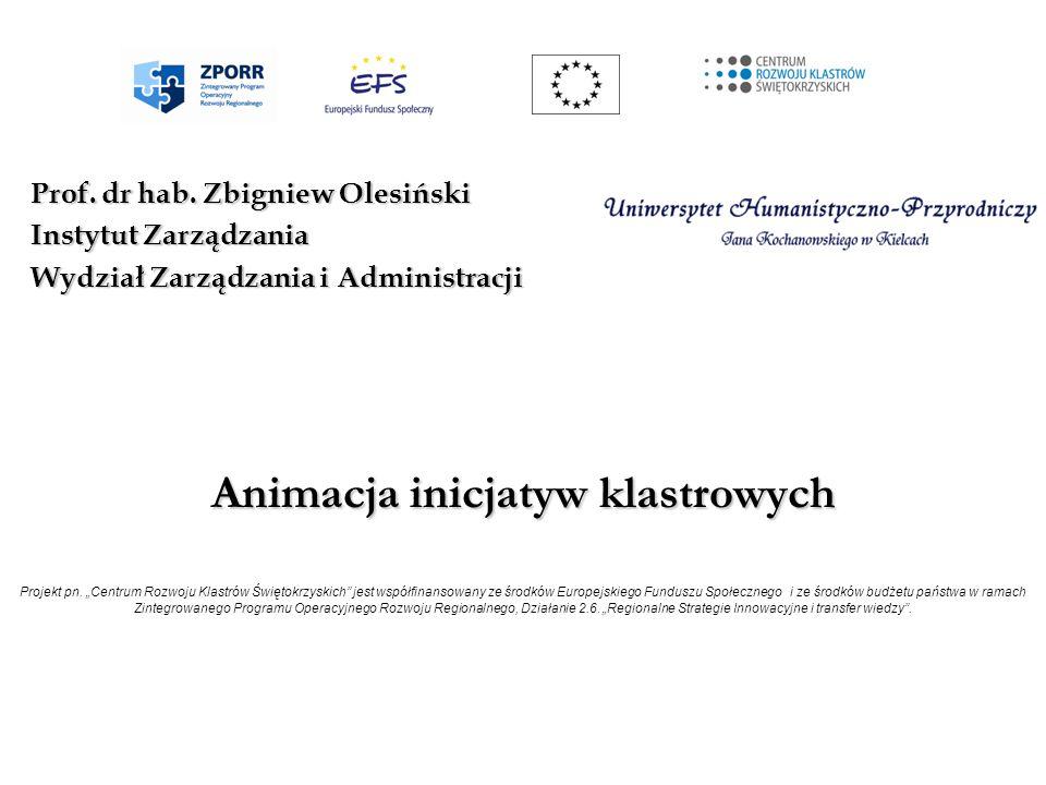 Prof. dr hab. Zbigniew Olesiński