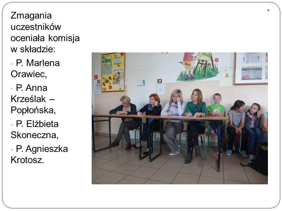 . Zmagania uczestników oceniała komisja w składzie: