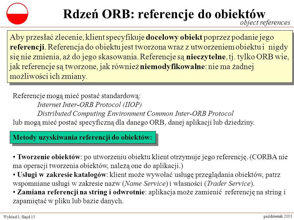 Rdzeń ORB: referencje do obiektów