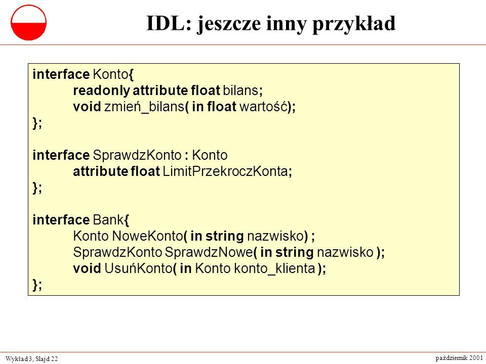 IDL: jeszcze inny przykład