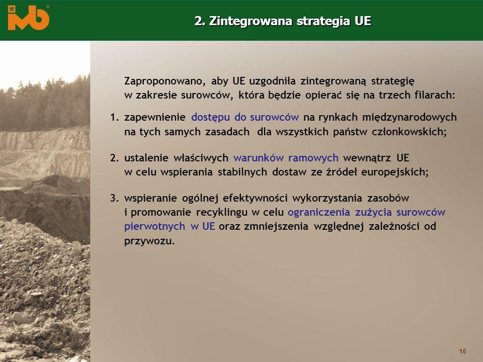 2. Zintegrowana strategia UE