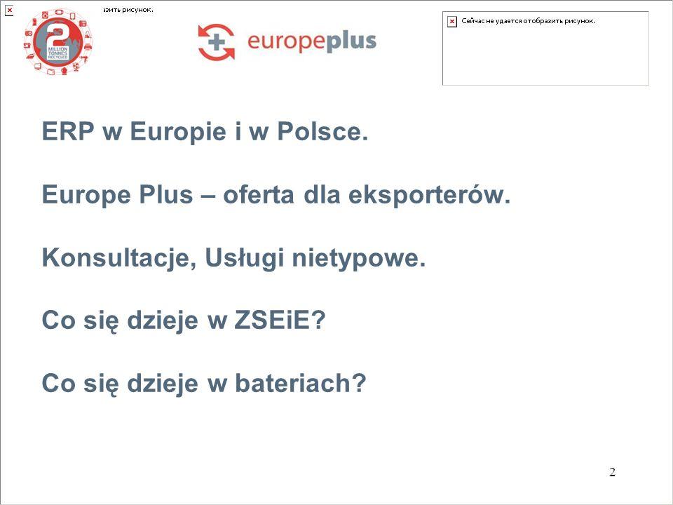 ERP w Europie i w Polsce. Europe Plus – oferta dla eksporterów