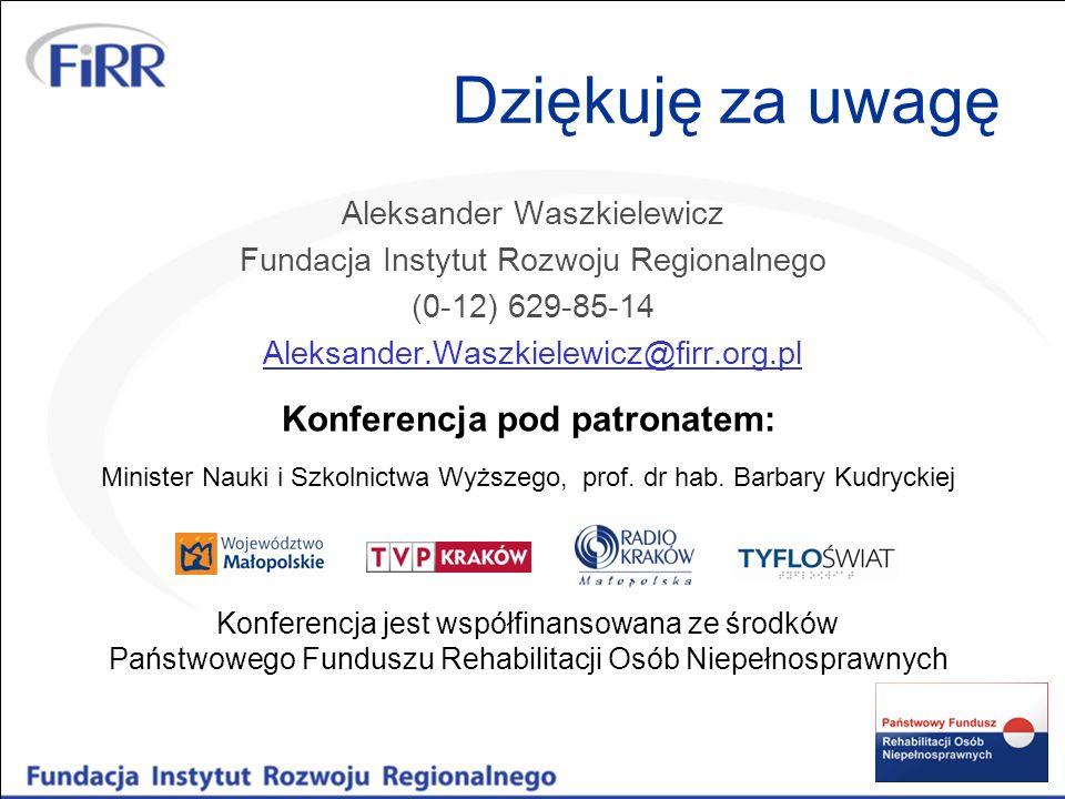 Konferencja pod patronatem: