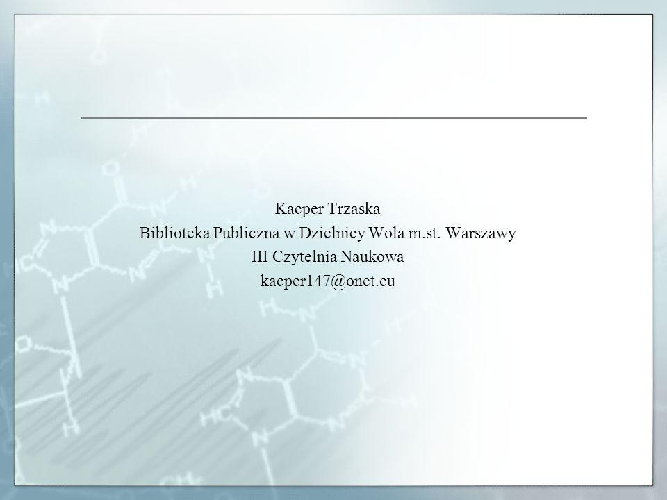 Biblioteka Publiczna w Dzielnicy Wola m.st. Warszawy