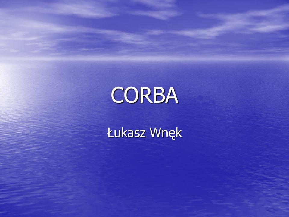 CORBA Łukasz Wnęk