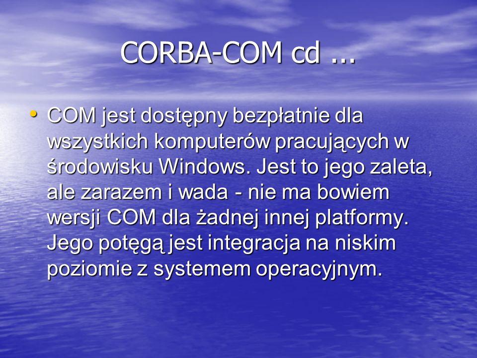 CORBA-COM cd ...