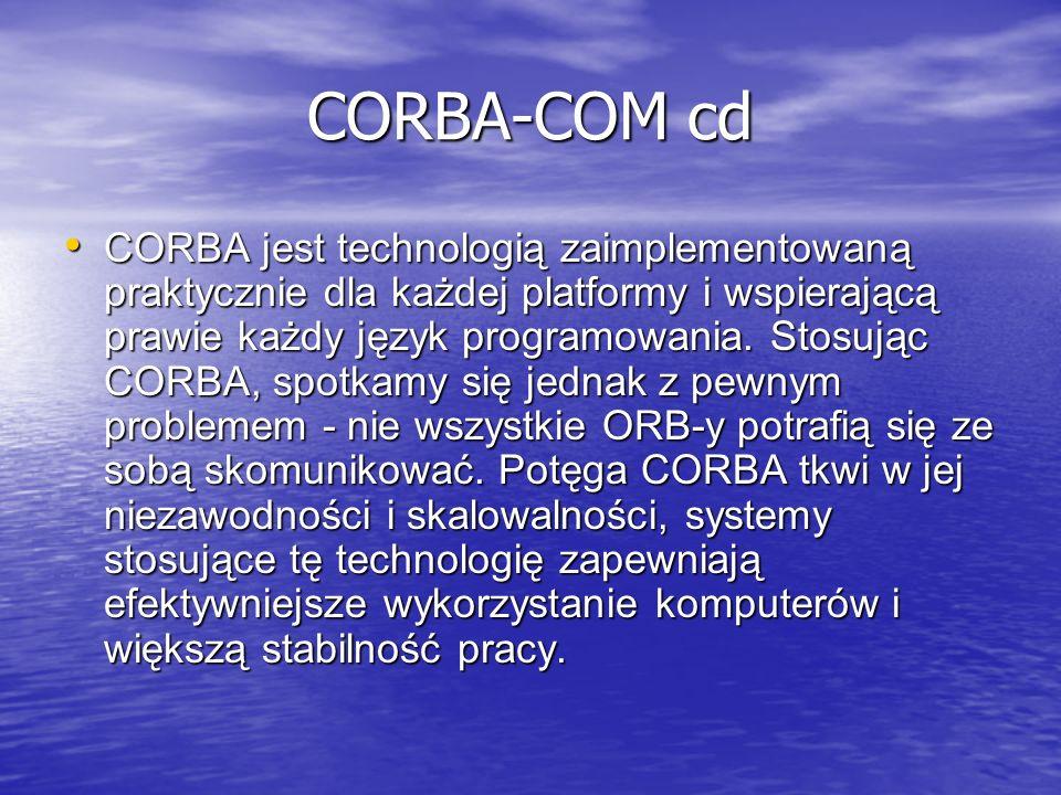 CORBA-COM cd