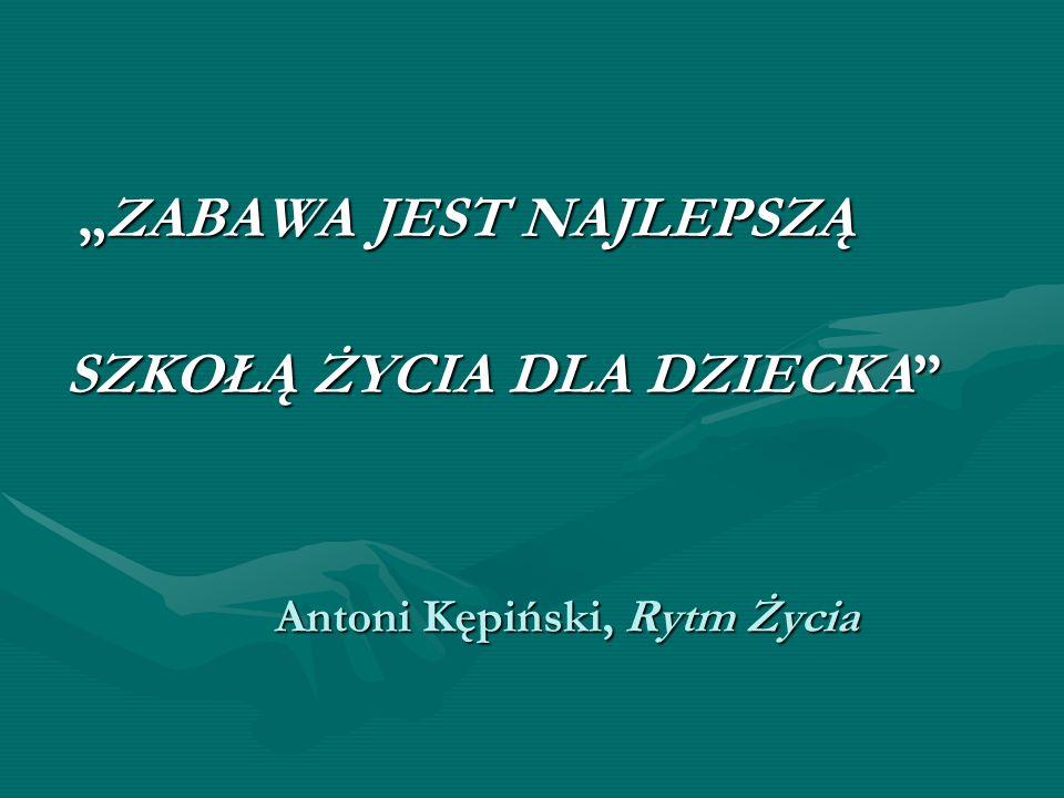 Antoni Kępiński, Rytm Życia
