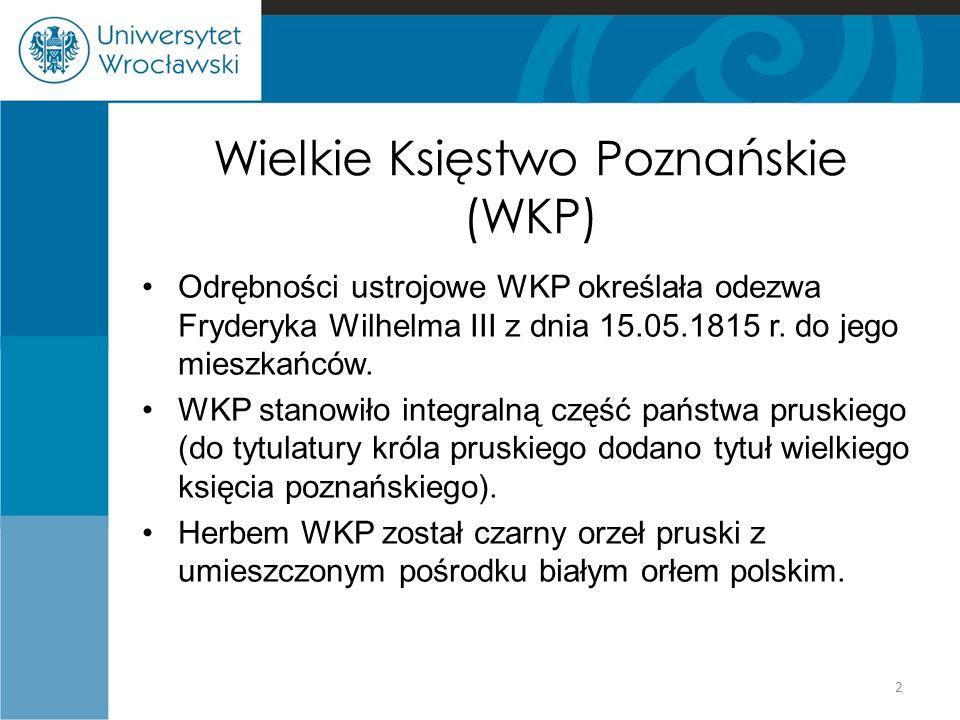 Wielkie Księstwo Poznańskie (WKP)
