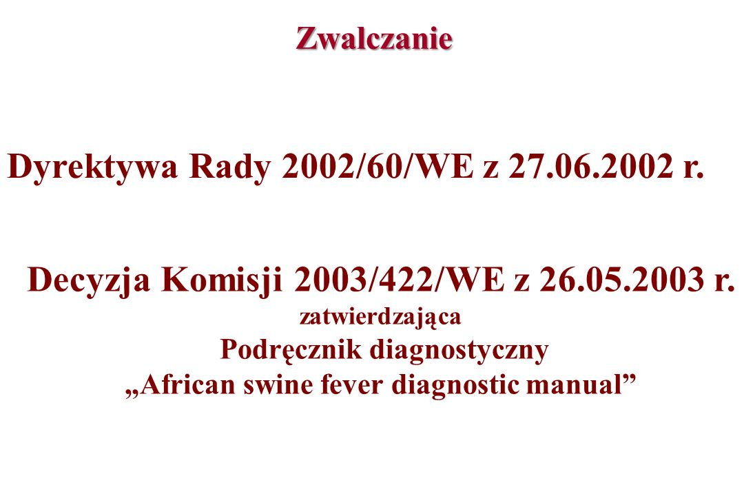 Decyzja Komisji 2003/422/WE z 26.05.2003 r.