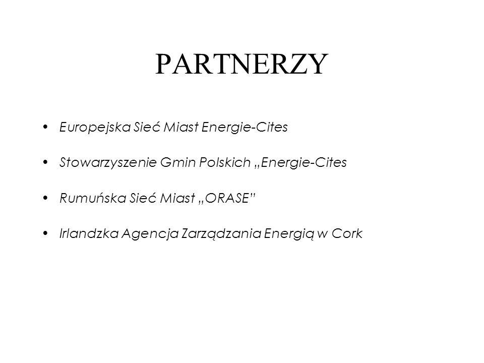 PARTNERZY Europejska Sieć Miast Energie-Cites