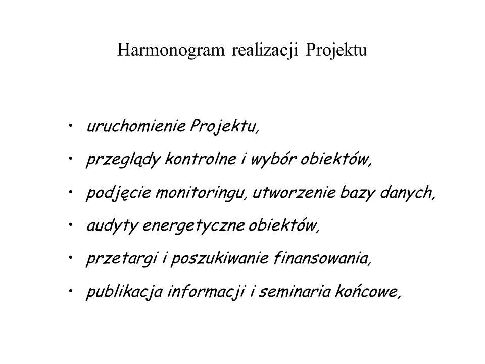 Harmonogram realizacji Projektu