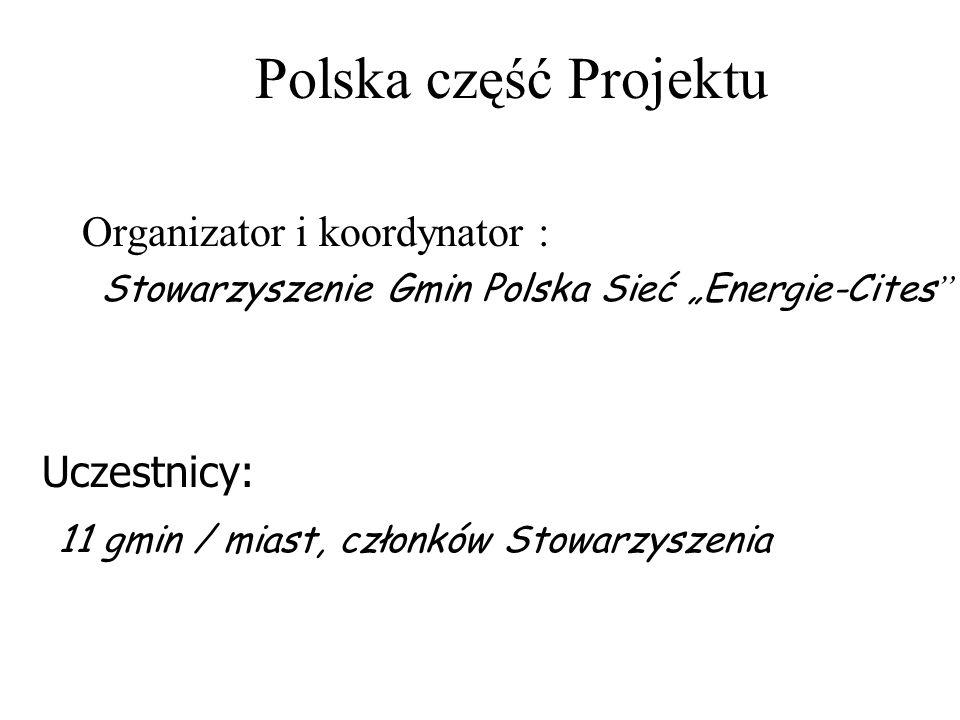 """Stowarzyszenie Gmin Polska Sieć """"Energie-Cites"""