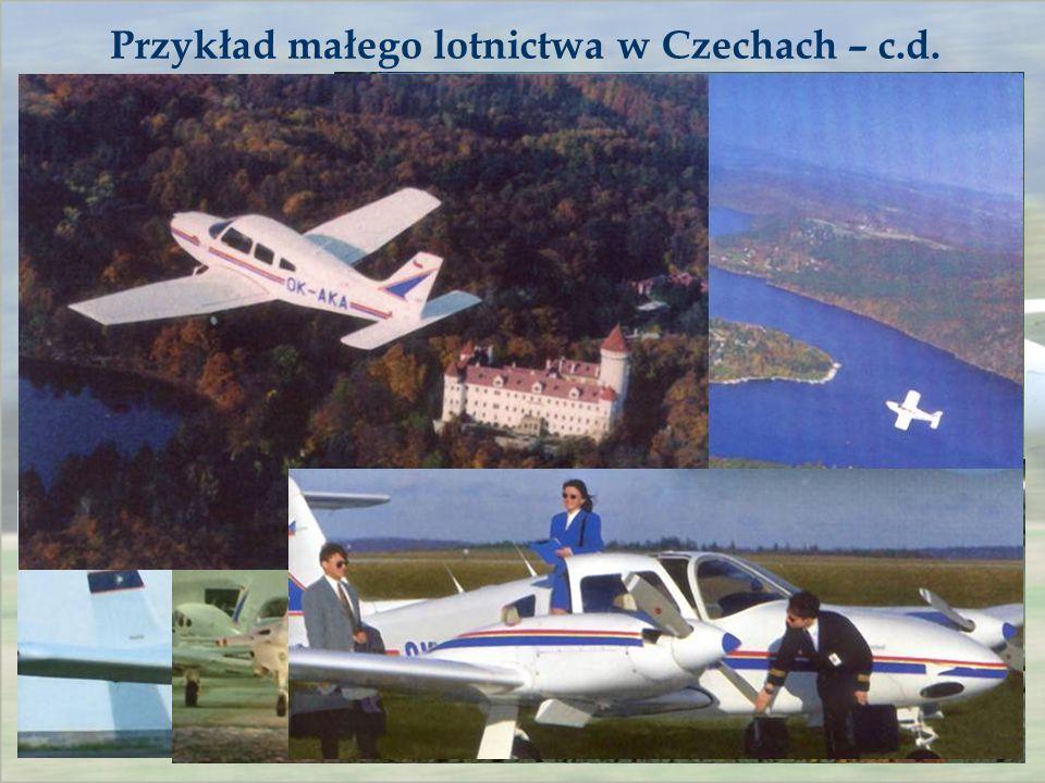 Przykład małego lotnictwa w Czechach – c.d.