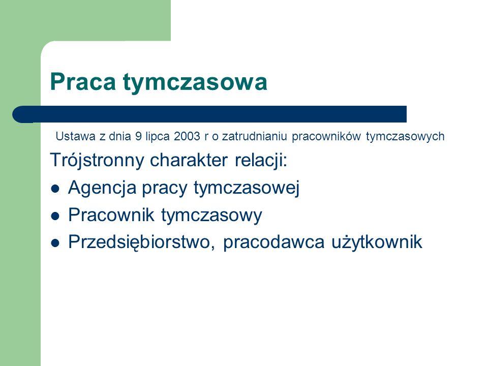 Ustawa z dnia 9 lipca 2003 r o zatrudnianiu pracowników tymczasowych