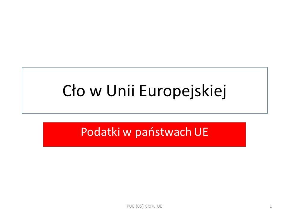 Cło w Unii Europejskiej